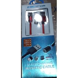 Cable USB Magnetico 3.A DRETCOM