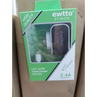 Cargador ewtto 2.4A