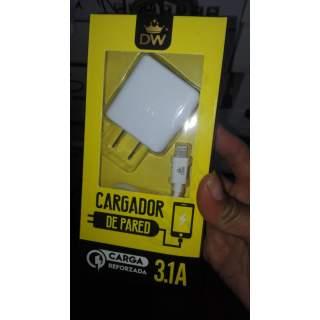 Cargador DW Para Iphone 3.1A