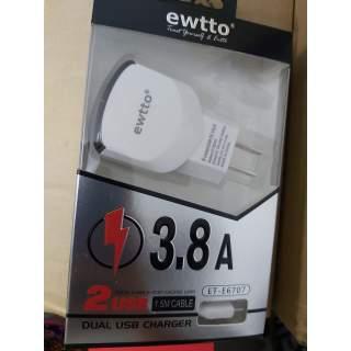 Cargador ewtto 3.8A